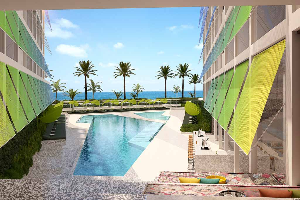 Les premières images du W Ibiza dont l'ouverture est prévue à l'été 2019 © W Hotels Worldwide