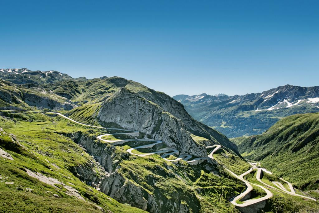 Grand Tour de Suisse - Col du Saint-Gothard