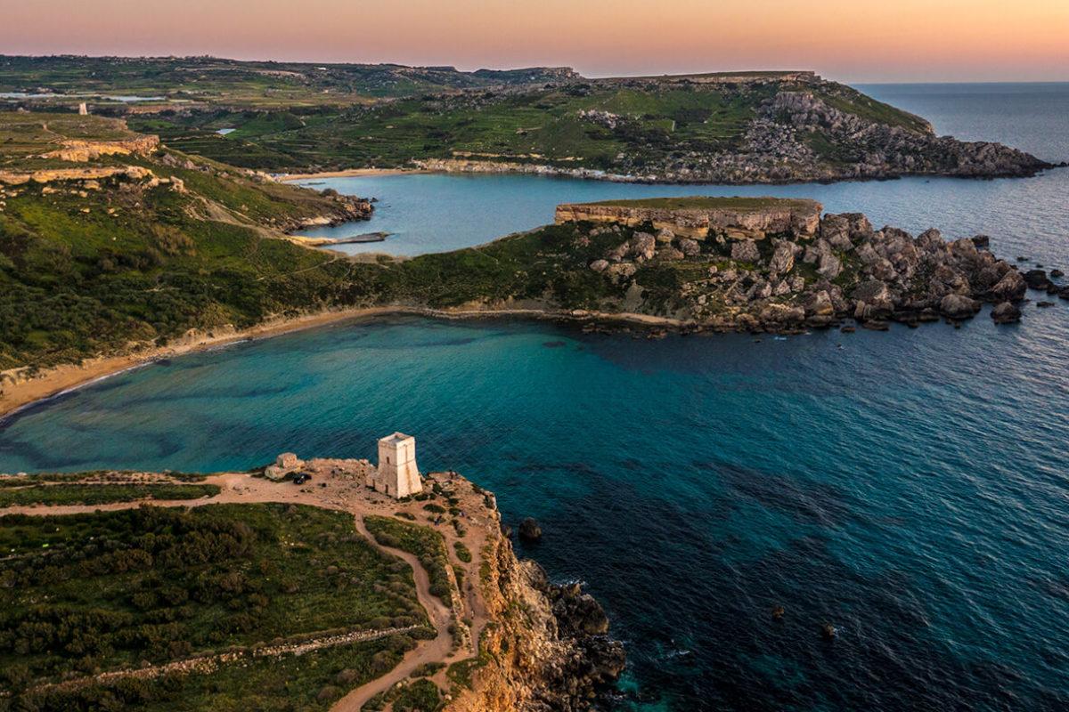 Les côtes maltaises, décor paradisiaque pour clubbers en quête de nouvelles expériences © Visit Malta