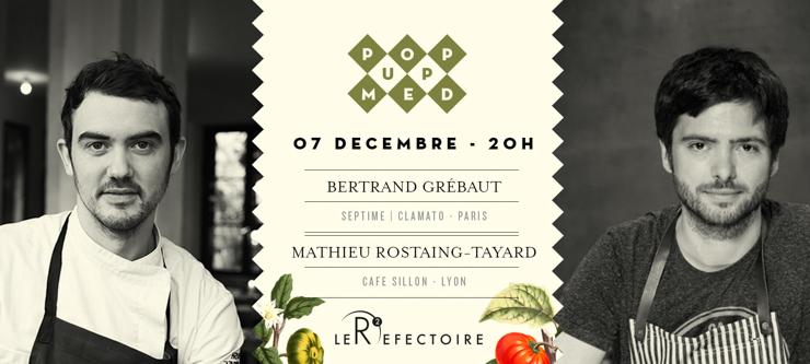 Pop Up Med à Marseille - Episode 1 le 7 décembre prochain