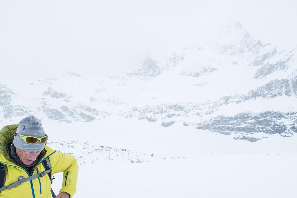 Une fois à l'écart des skieurs on pourrait se croire beaucoup plus isolé qu'on ne l'est réellement. © Yonder.fr