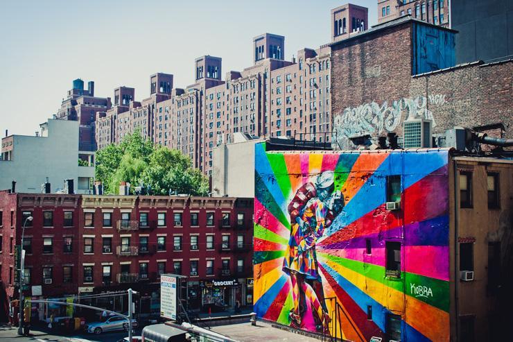 Chelsea - Peinture murale d'Eduardo Kobra