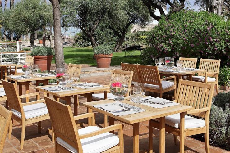 Café Veranda à l'Hotel Arts - La terrasse