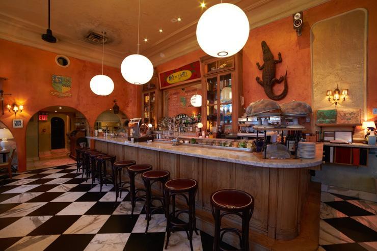 Café Gitane - Le comptoir