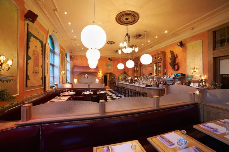 Café Gitane - Intérieur