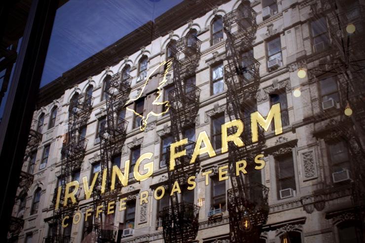 Irving Farm Coffee Roasters - Orchard St - Vitrine extérieure