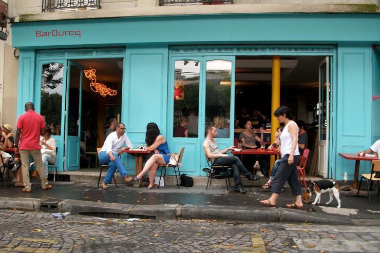 La terrasse du Barourcq sur la rue