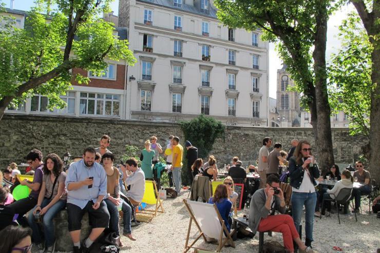 Terrasse du Café A