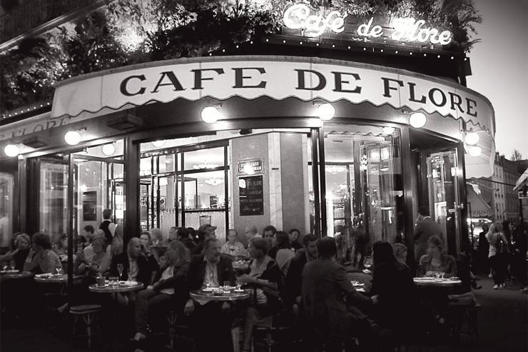 La terrasse du Café de Flore