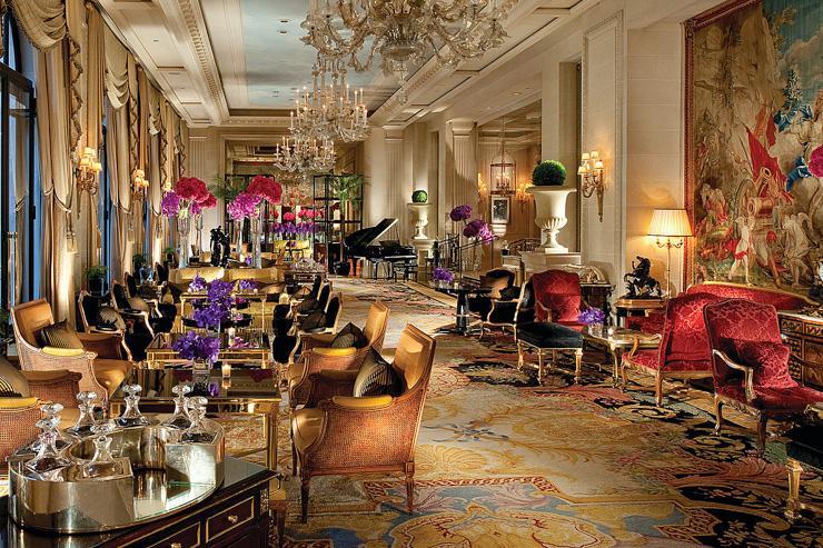 La Galerie, où est servi l'Afternoon Tea du Four Seasons
