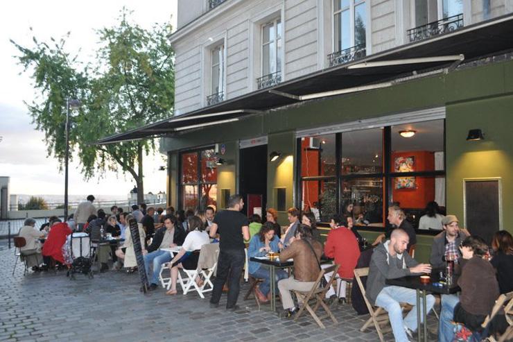 La très agréable terrasse du O'Paris