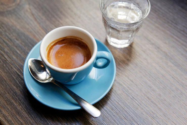 Café servi au Téléscope