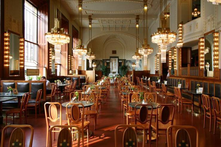 Kavárna Obecní Dům - Intérieur du café