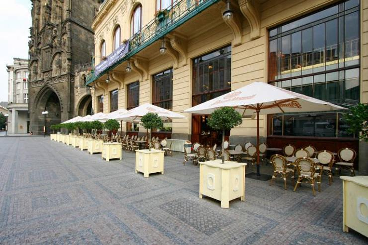 Kavárna Obecní Dům - Terrasse