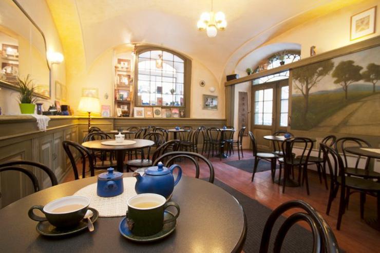 U Zeleného čaje - Intérieur du salon de thé
