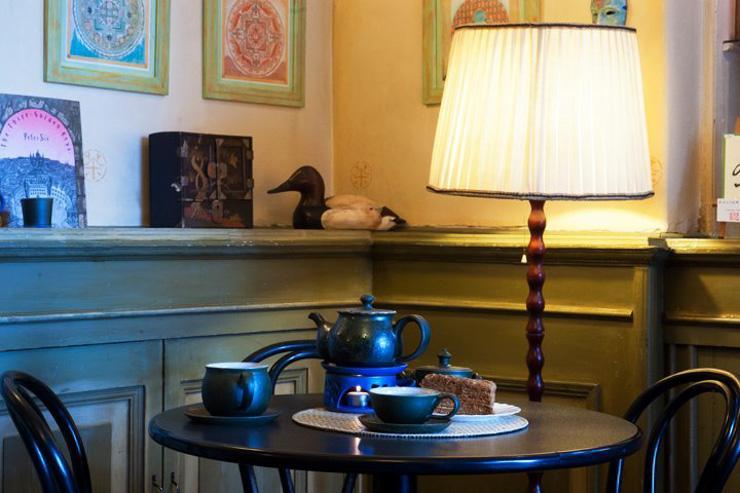 U Zeleného čaje - Table dressée