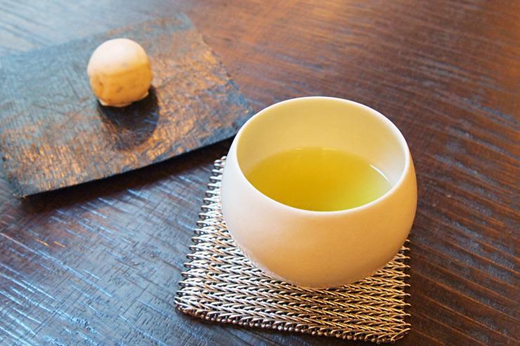 Uogashi-Meicha Cha Ginza - Thé vert et pâtisserie