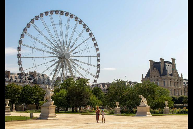 Le jardin des Tuileries © Kirsten Drew