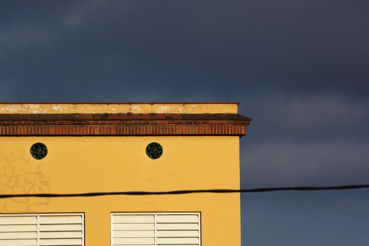 Ciel menaçant dans le quartier de Sarrià