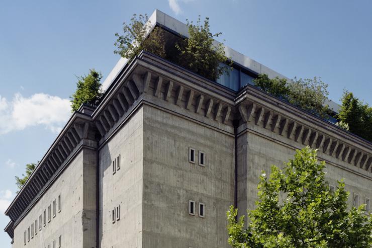 Sammlung Boros - Vue extérieure de l'ancien bunker