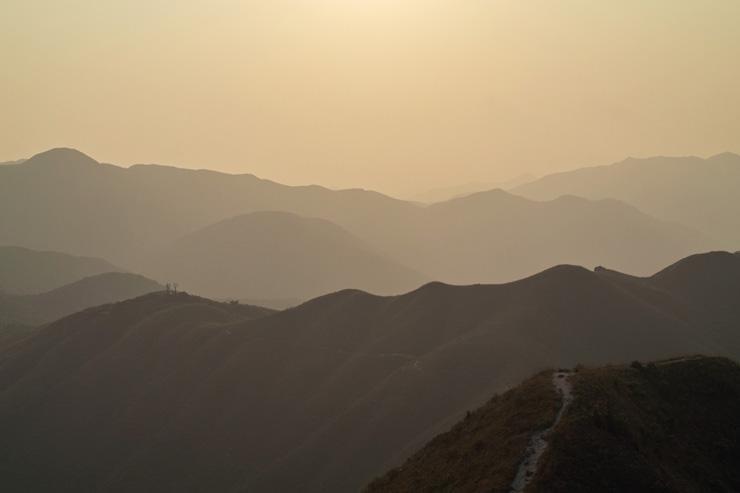 Paysages sauvages de la région de Sai Kung