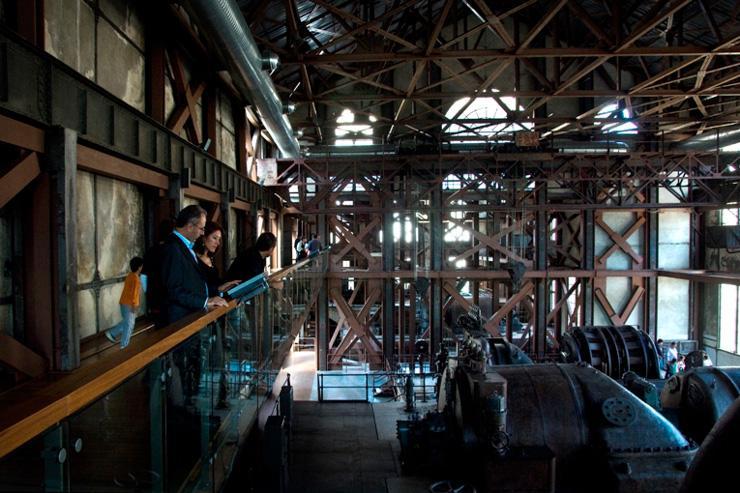 SantralIstanbul - Les anciennes installations de la centrale électrique