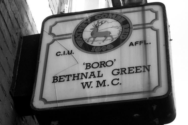 Dans le quartier de Bethnal Green
