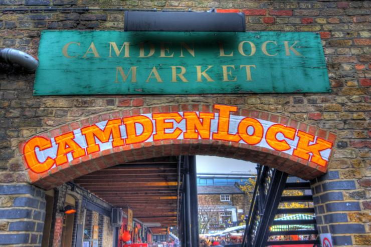 Camden Market - L'une des entrées du marché