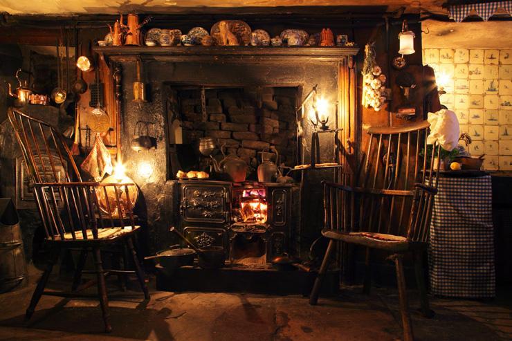 Intérieur de la Dennis Severs' House