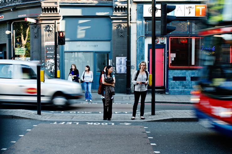 Scène de rue dans Shoreditch