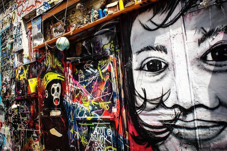 Street Art dans le 20ème arrondissement