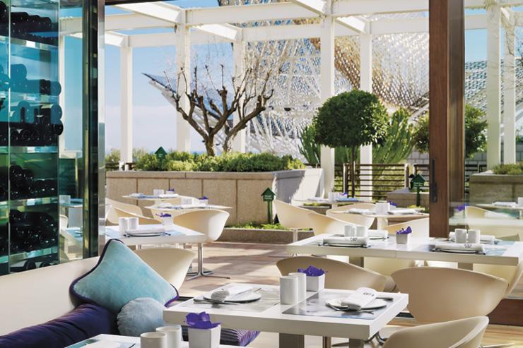 Hotel Arts - Terrasse