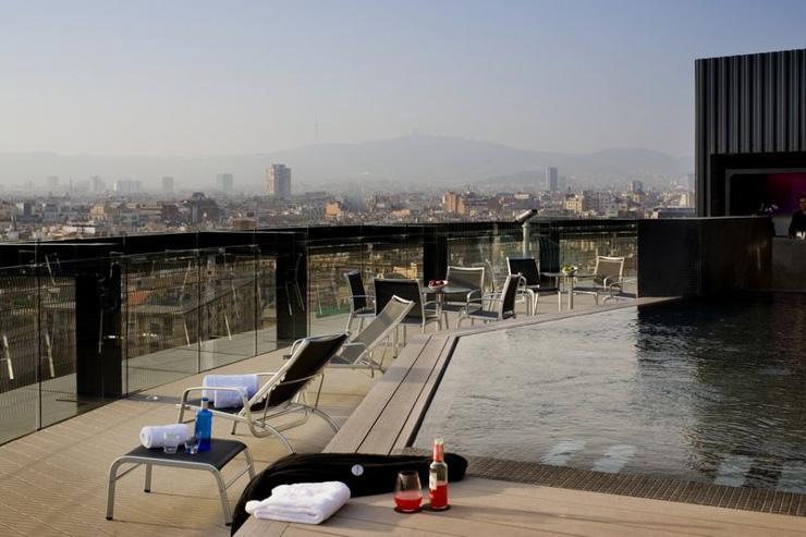 Barceló Raval - Rooftop avec piscine
