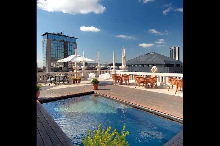 Hotel Casa Fuster - Rooftop avec piscine