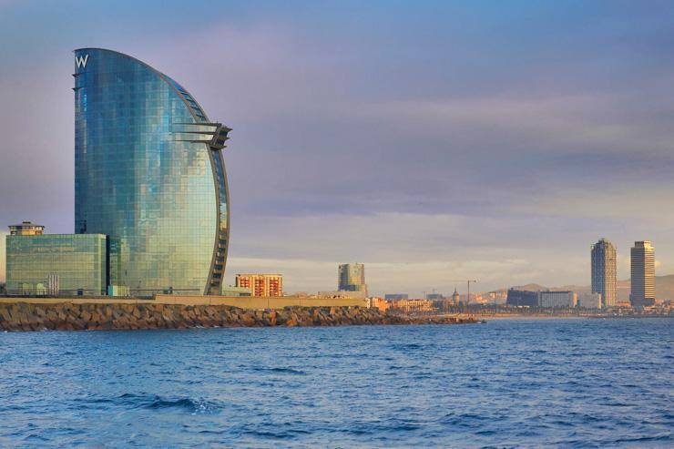 W Barcelona - L'hôtel face à la mer