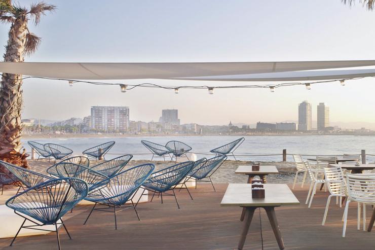 W Barcelona - Salt Beach Club sur la plage