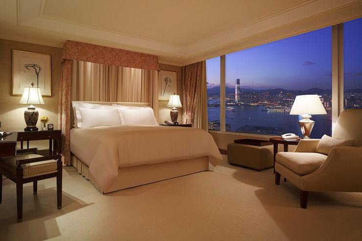 Conrad Hong Kong - Vue côté port
