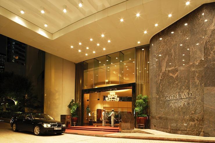 Conrad Hong Kong - Entrée de l'hôtel