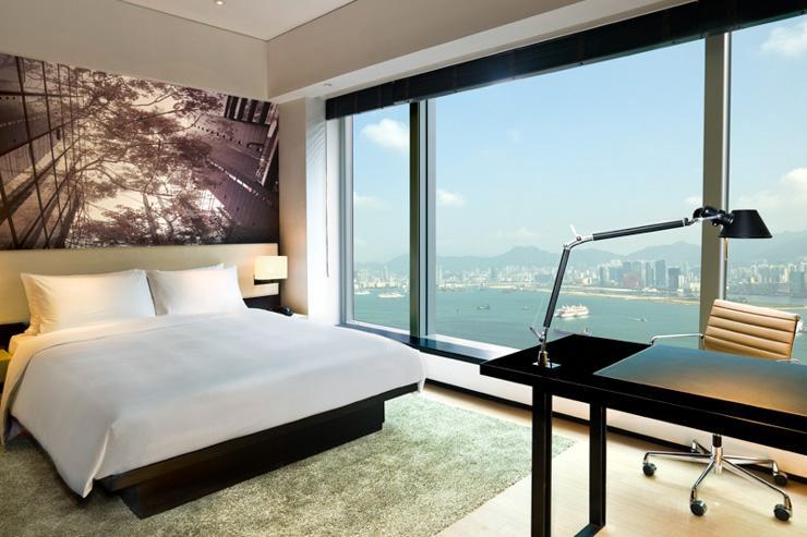 EAST Hong Kong - Chambre avec vue