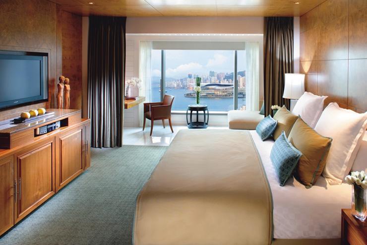 Mandarin Oriental Hong Kong - Chambre avec vue