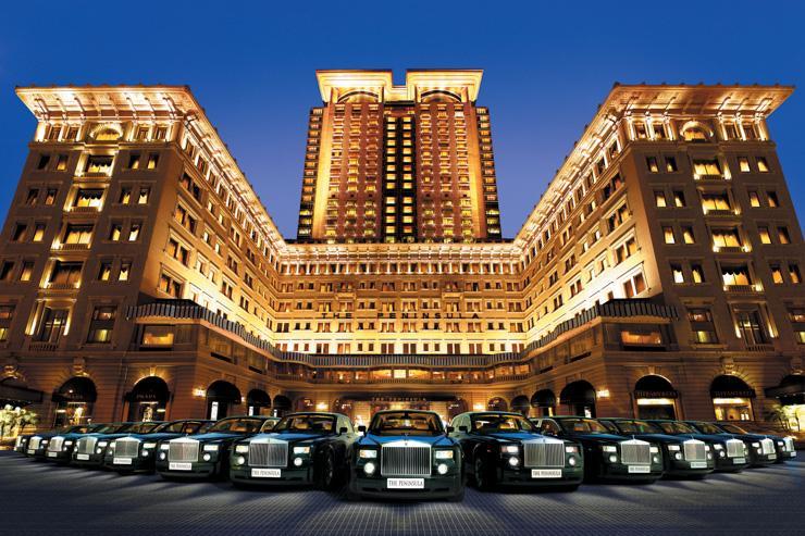 The Peninsula Hong Kong - Façade de l'hôtel