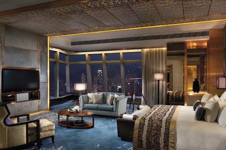 The Ritz-Carlton Hong Kong - Décor fastueux dans les suites