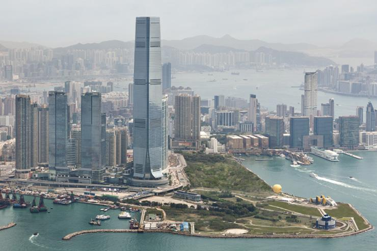 The Ritz-Carlton Hong Kong - Vue extérieure de l'ICC