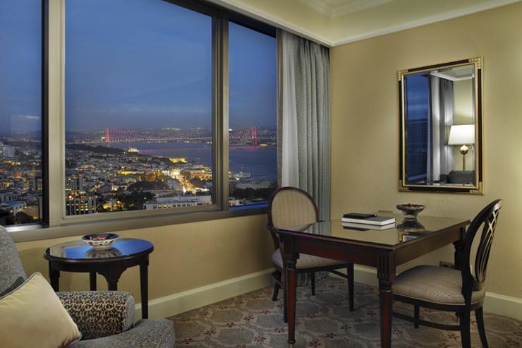 Ritz-Carlton Istanbul - Chambre avec vue sur le Bosphore