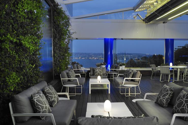 Ritz-Carlton Istanbul - Terrasse