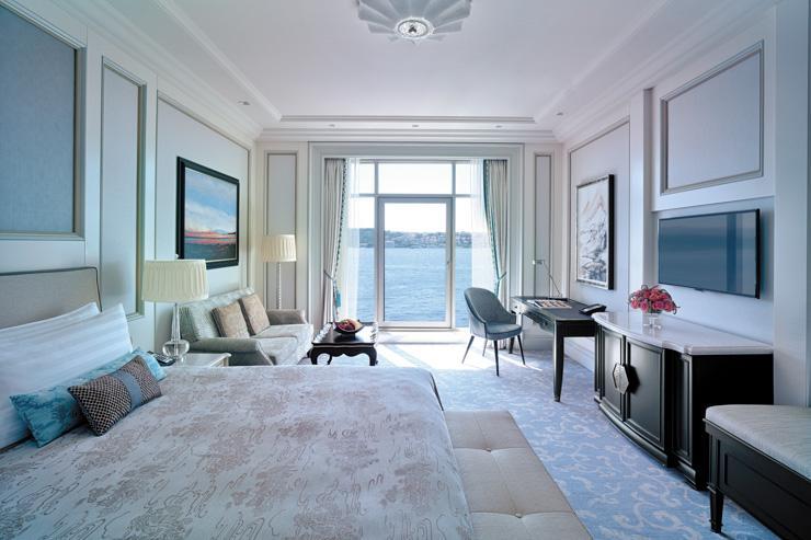 Shangri-La Istanbul - Chambre avec vue sur le Bosphore