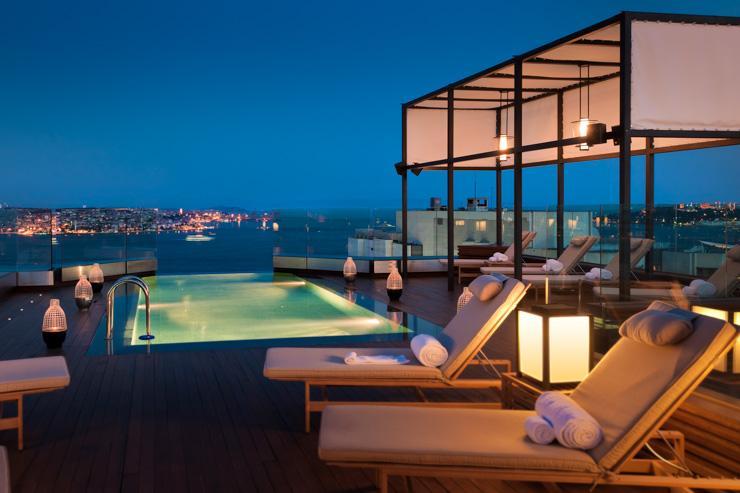 Swissotel Istanbul - Zone extérieure du spa