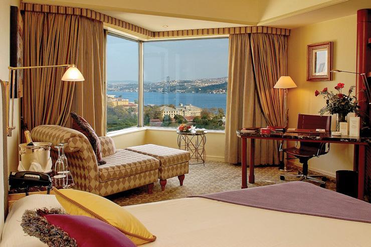 Swissotel Istanbul - Chambre avec vue sur le Bosphore