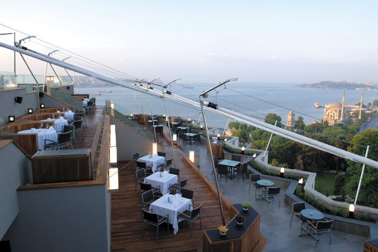 Swissotel Istanbul - Terrasse panoramique
