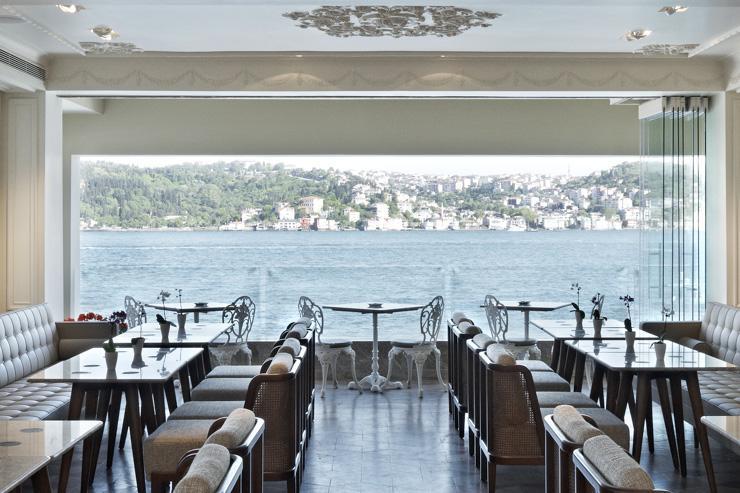 The House Hotel Bosphorus - Restaurant avec vue sur le Bosphore